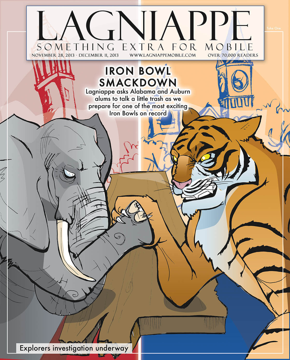 Lagniappe Nov. 28 – Dec. 11, 2013