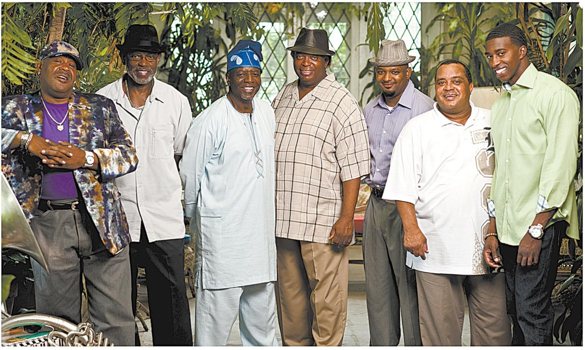 The Dirty Dozen Brass Band will entertain the Run Your Stache Off After-Party Nov. 23 at O'Daly's Irish Pub.