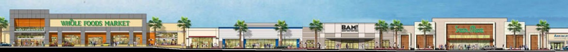 Burton Property Group is leading the redevelopment of Pinebrook Shopping Center (above) and Westwood Plaza.