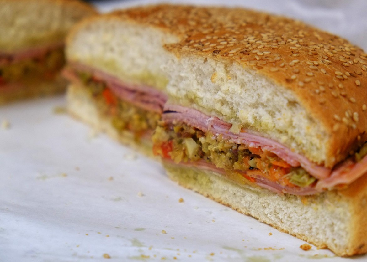The muffaletta at Food Pak may be the best in Mobile.