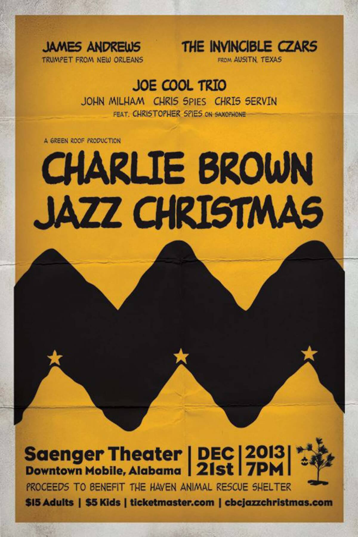Charlie Brown Jazz Christmas returns to Saenger for a longer show