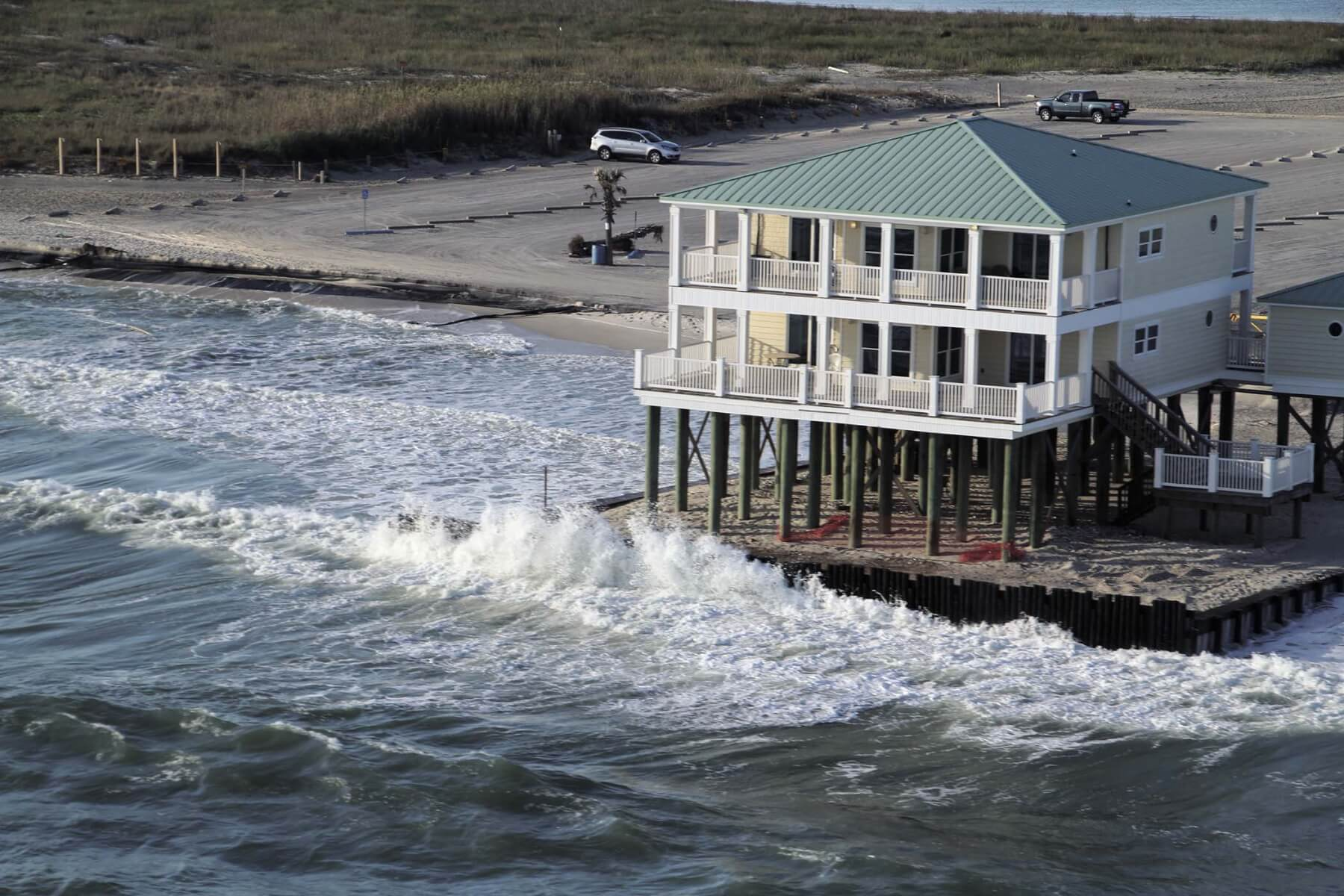 Unregulated private construction washes away million-dollar public beach