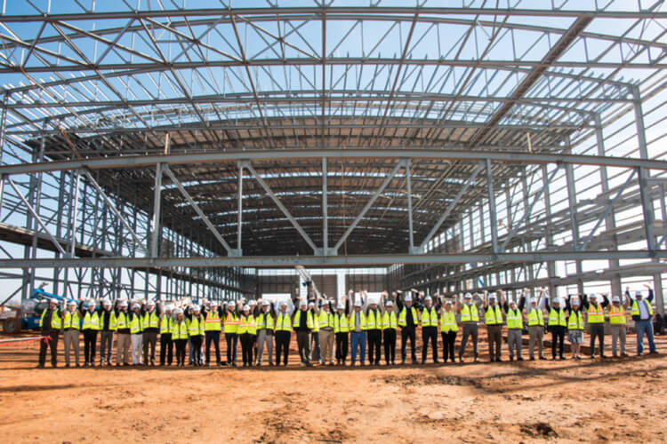 First Airbus building photos released