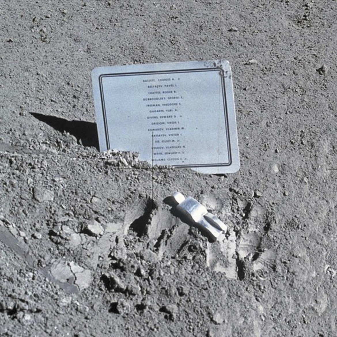 In 1971, Apollo 15 astronauts placed a plaque on the moon listing those who died in the space race. At the bottom is Mobile native Cliffton C. WIlliams.