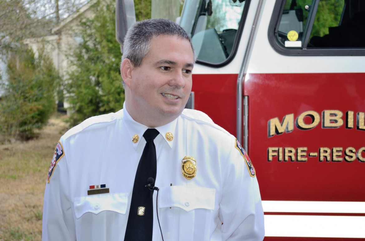 Interim Fire Chief Randy Smith