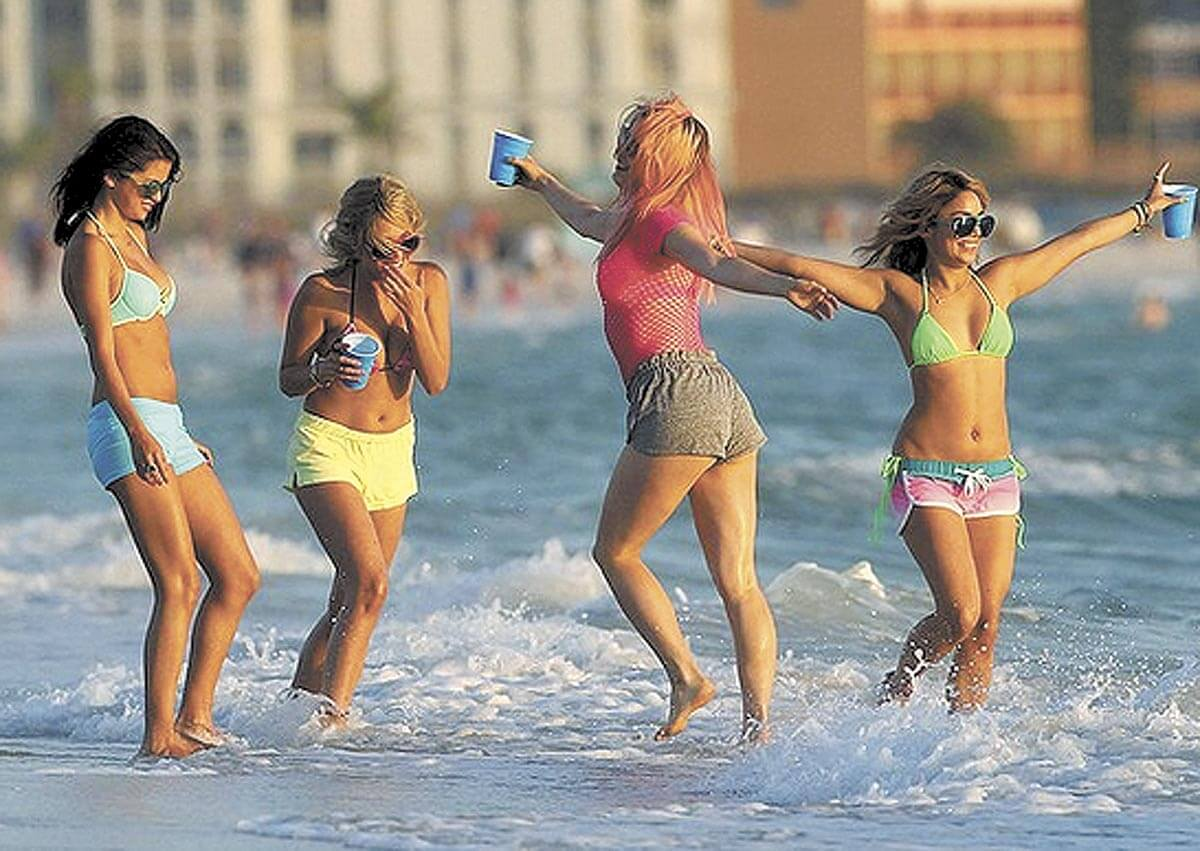 Take a vacation from movies like 'Spring Breakers'