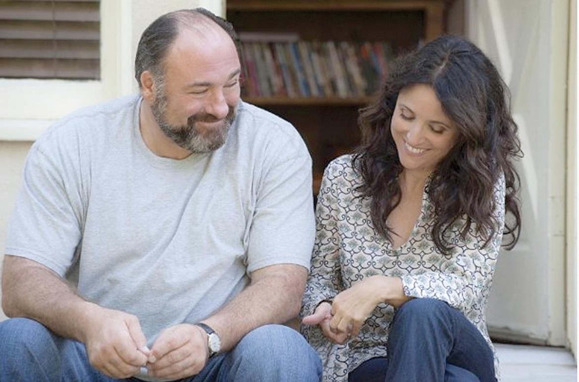 "James Gandolfini and Julia Louis-Dreyfus play tentative, divorced lovers in ""Enough Said,"" a Chick Flick brought to you by Nicole Holofcener."