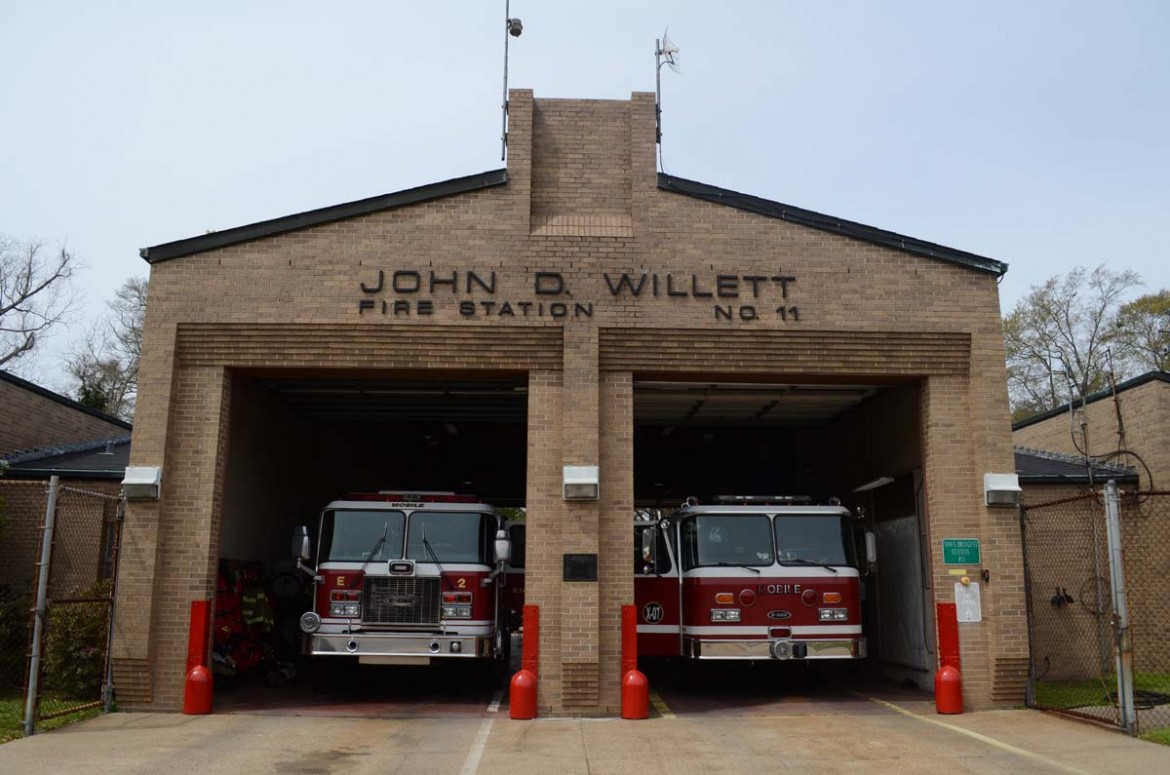 An engine company at the Mobile Fire-Rescue Department's Willett Station on Broad Street will be temporarily mothballed so the personnel can be shifted elsewhere in the department. Similar changes at other stations will allow the department to curb its overtime costs and adjust to a new budget, Chief Randy Smith said.