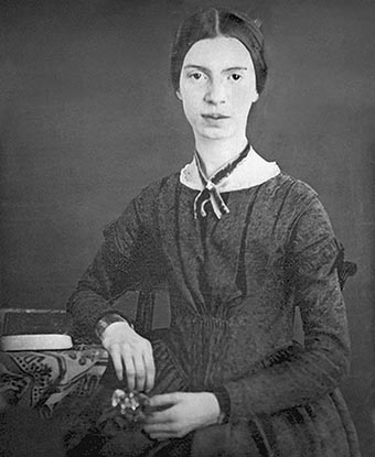 "Local actress Danielle Juzan to play Emily Dickinson (above) in ""Belle of Amherst."""