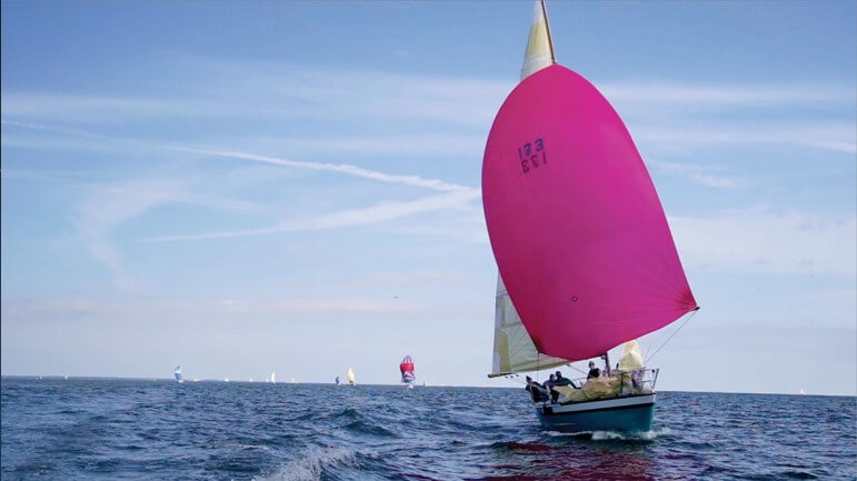 The Dauphin Island Race is one of the country's largest regattas.