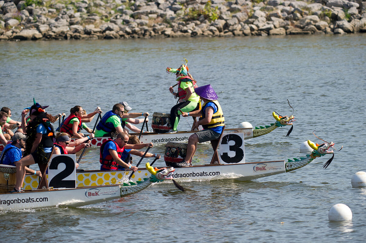 Dragons taking over Mobile Delta for fundraising boat race