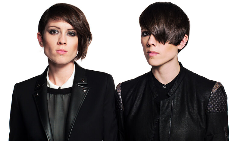 Quin sisters explore electronic pop side of indie music