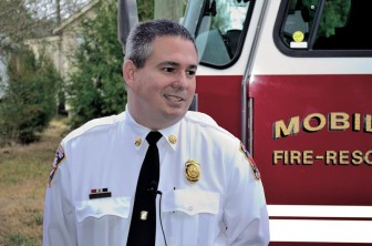 "Interim Mobile Fire Department Chief Paul Smith's fender bender was ruled ""avoidable"" by an accident review committee."
