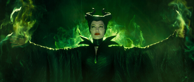 Jolie, her horns dominate screen in fairy tale story of 'Maleficent'