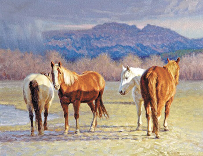 COVER STORY: Questions raised as to whether a Western artist's works, among others, were copied by a local