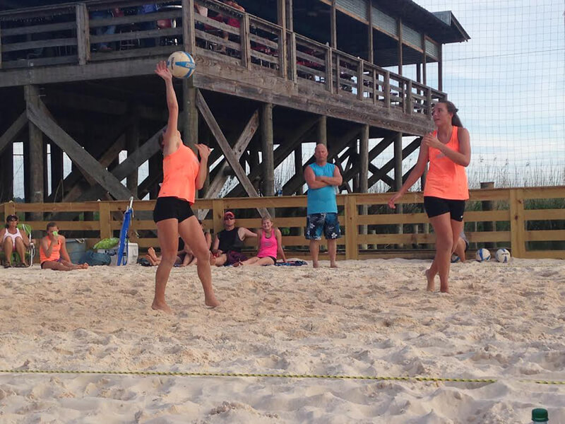 Beach volleyball finds unique venue with Tropics on Causeway