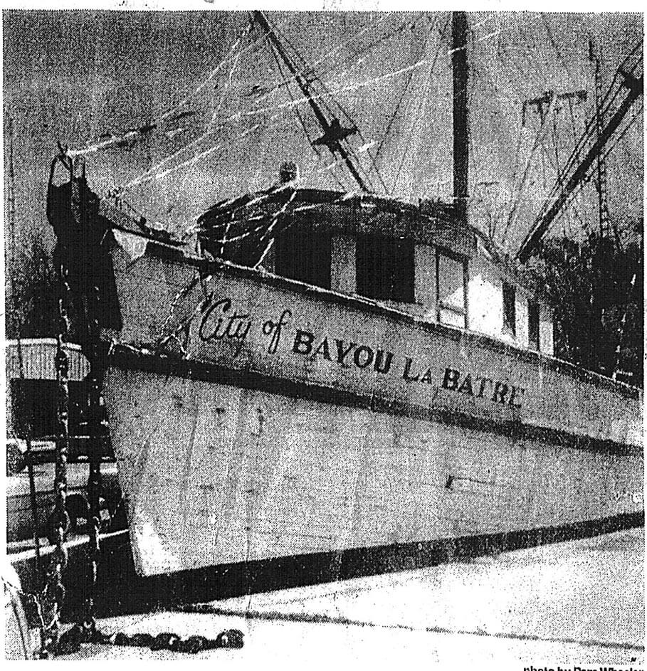 Two families help showcase Bayou's maritime heritage