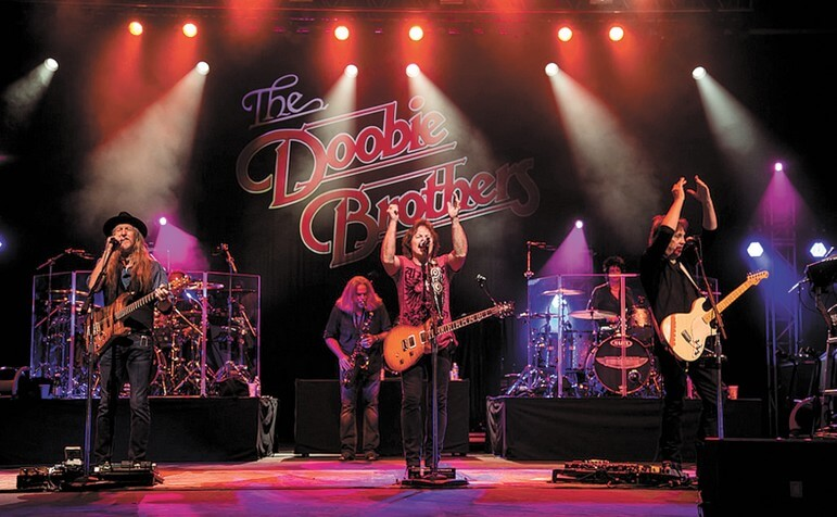 "The Doobie Brothers set at the The Wharf July 19 will include songs ""people will be familiar with."""