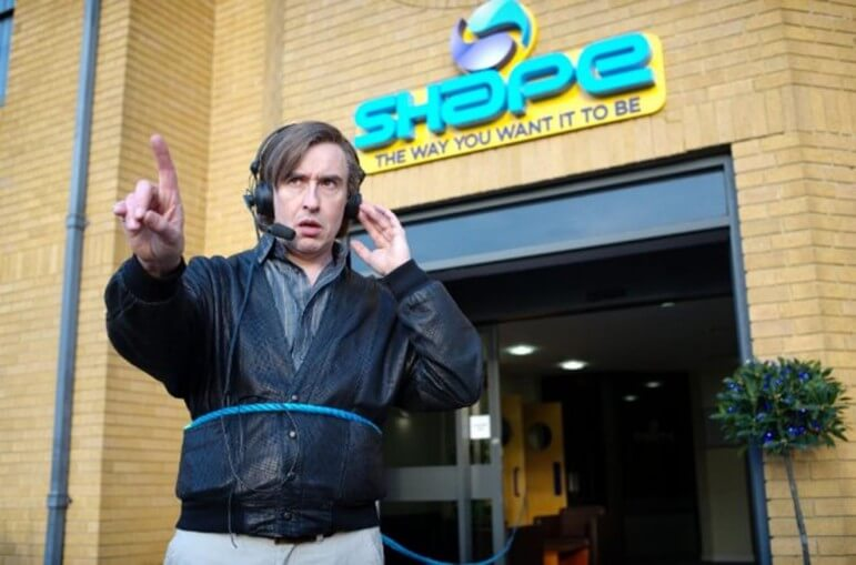 Steve Coogan stars as British television host and hostage negotiator 'Alan Partridge.'