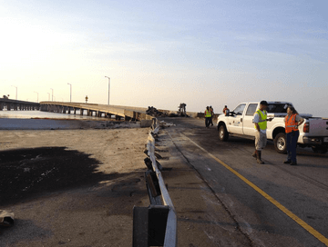 Causeway ramp closed while officials evaluate accident site