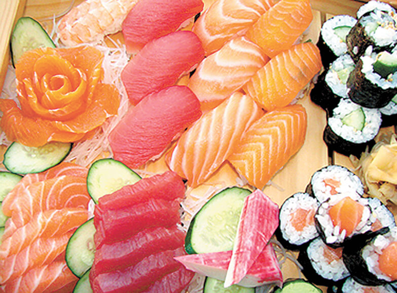 Saucy sushi and more at Osaka Japanese restaurant