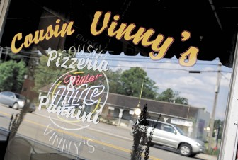 Cousin Vinny's on Main Street in Daphne  is the casual alternative to Guido's.