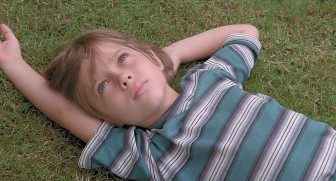 "Richard Linklater's film ""Boyhood"" filmed actors over an 11-year period."
