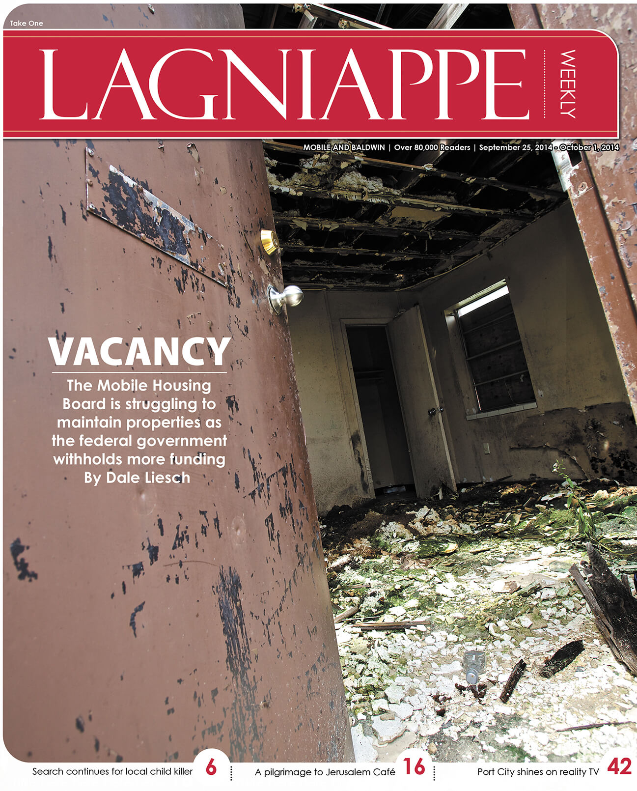 Lagniappe Sept. 25-Oct. 1, 2014