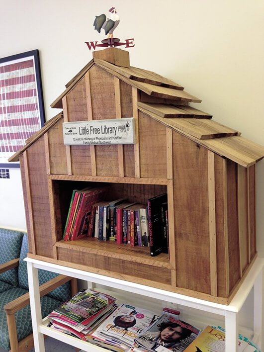 COVER STORY: Take a look in a book: Little libraries encourage neighborhood reading