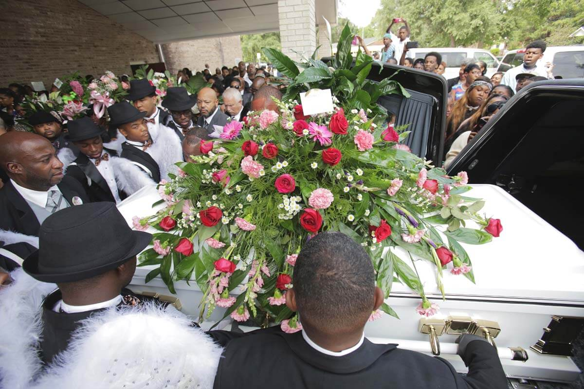 Murdered girl's funeral passes with no arrests in case