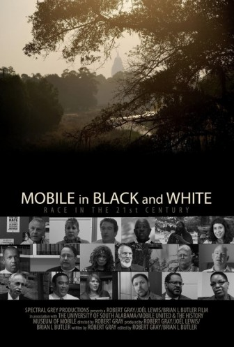 Mobile in Black and White Poster