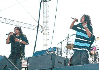 Mobile's own 2 Major Twinz will bring an up-tempo hype show to BayFest's Miller Lite Stage Oct. 3.