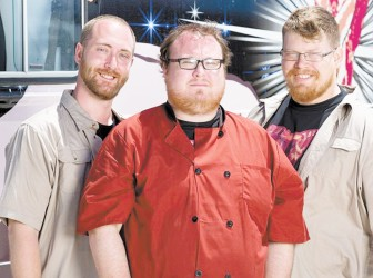 """""""Let There Be Bacon"""" was one of the teams competing in """"The Great Food Truck Race."""""""