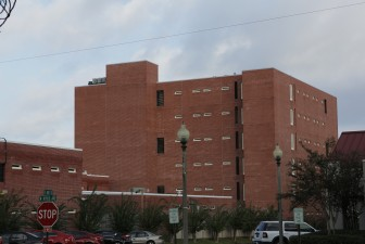 The Baldwin County Corrections Center, where Nodine was an inmate for the past two years.