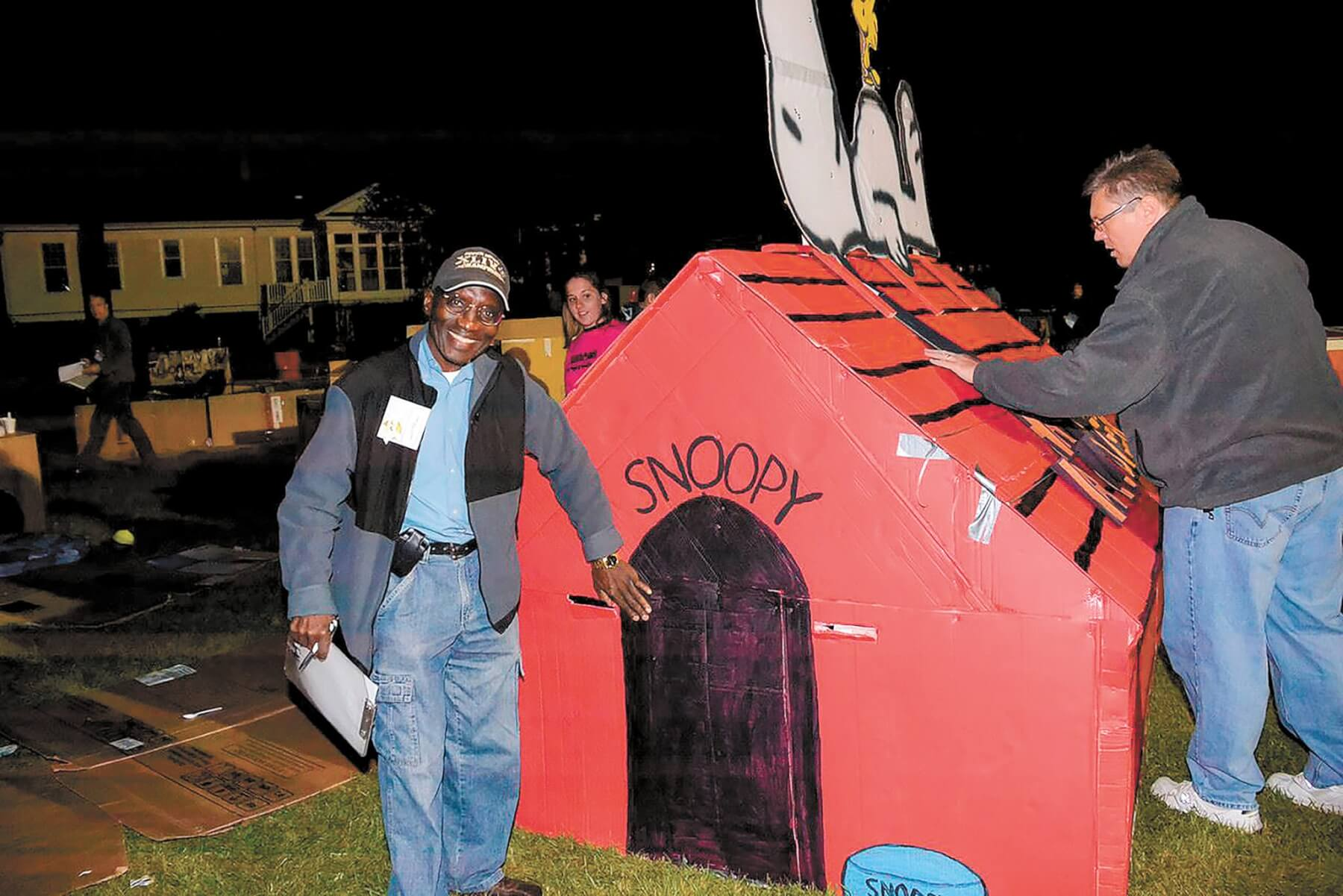 Cardboard City giving donors a glimpse at homelessness
