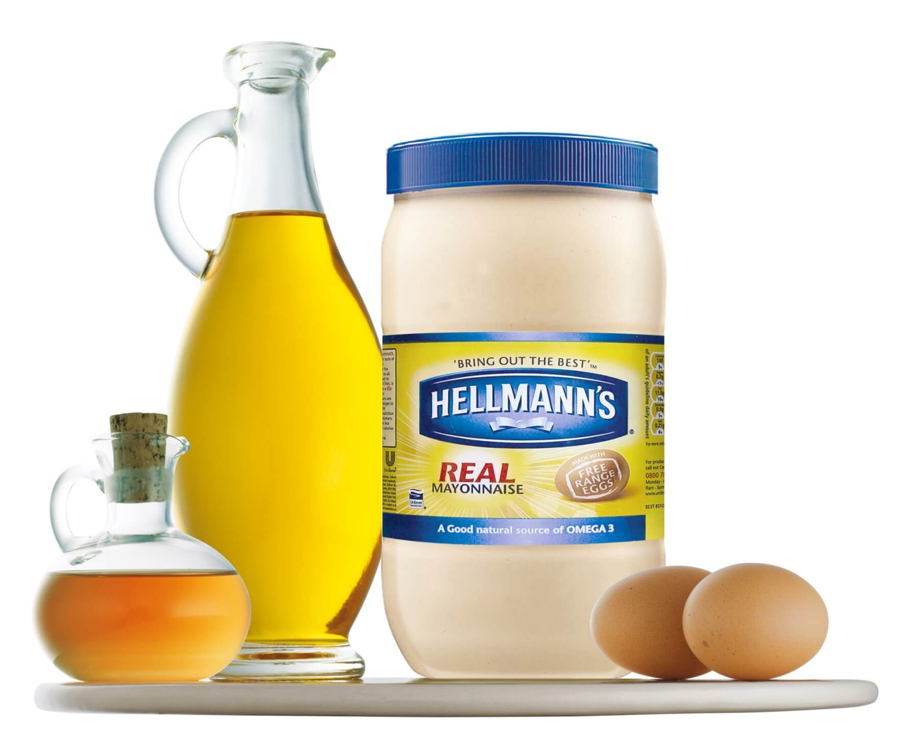 Mayonnaise: the White Knight of kitchen condiments