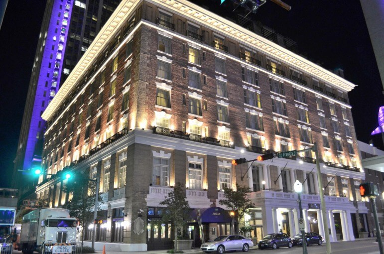 Mobile's Battle House Hotel, which underwent a $130 million renovation completed in 2007, entered into a consent decree with the Department of Justice over numerous violation of the Americans with Disabilities Act.