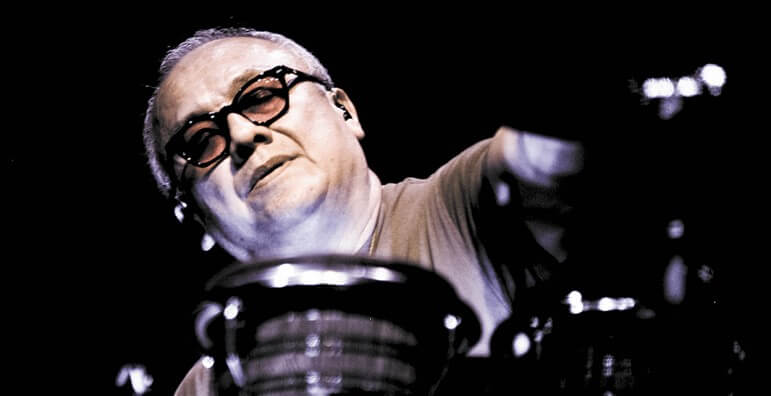 "Domingo ""Sunny"" Ortiz has played percussion alongside Widespread Panic since 1987."