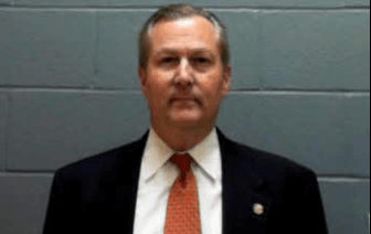 Speaker Mike Hubbard's mugshot from his 2014 arrest. (Lee County Jail)
