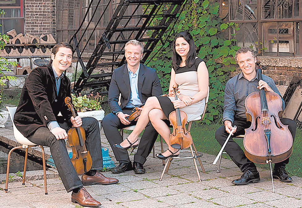 Pacifica Quartet opens Chamber Music season
