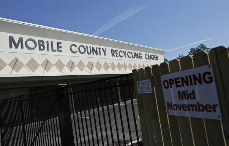 The Mobile County Commission will host a ribbon cutting at its new state-of-the-art recycling facility at 7450 Hitt Road Nov. 20. The facility will be managed by Goodwill Easter Seals of the Gulf Coast.