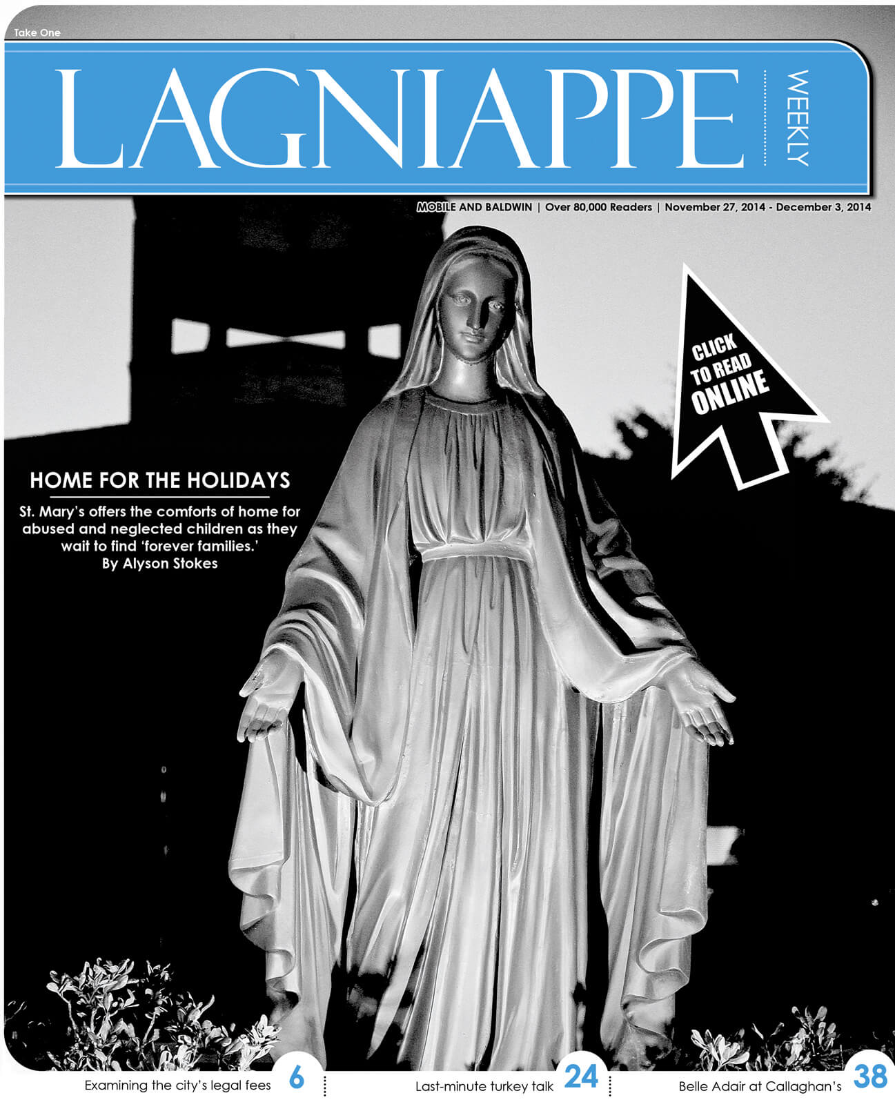 Lagniappe Nov. 27-Dec. 3, 2014