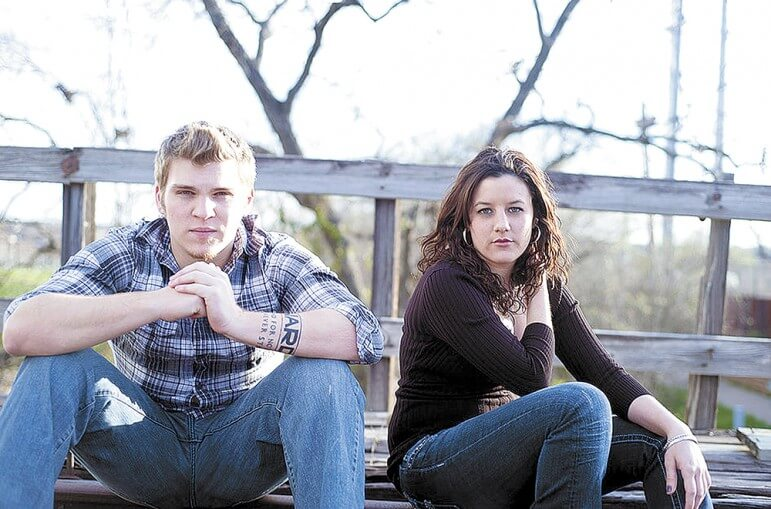 Jeremy Burchard and Jennica Scott will perform at Saddle Up Saloon this Saturday.
