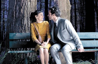 "Audrey Tautou and Romain Duris star in ""Mood Indigo."""