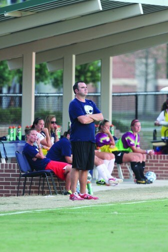 Lady Jags Head Coach Graham Winkworth guided the team to an 8-0-1 regular season record, and USA will host the Sun Belt Tournament this week.