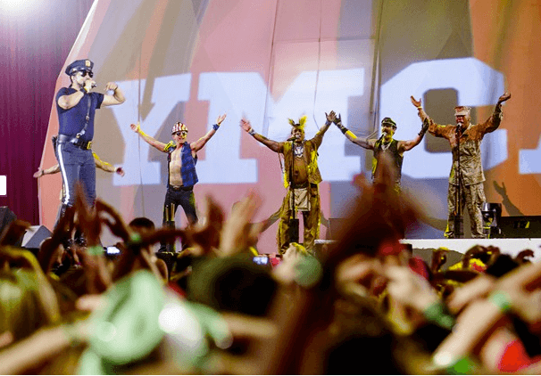 The Village People perform in Europe earlier this year.