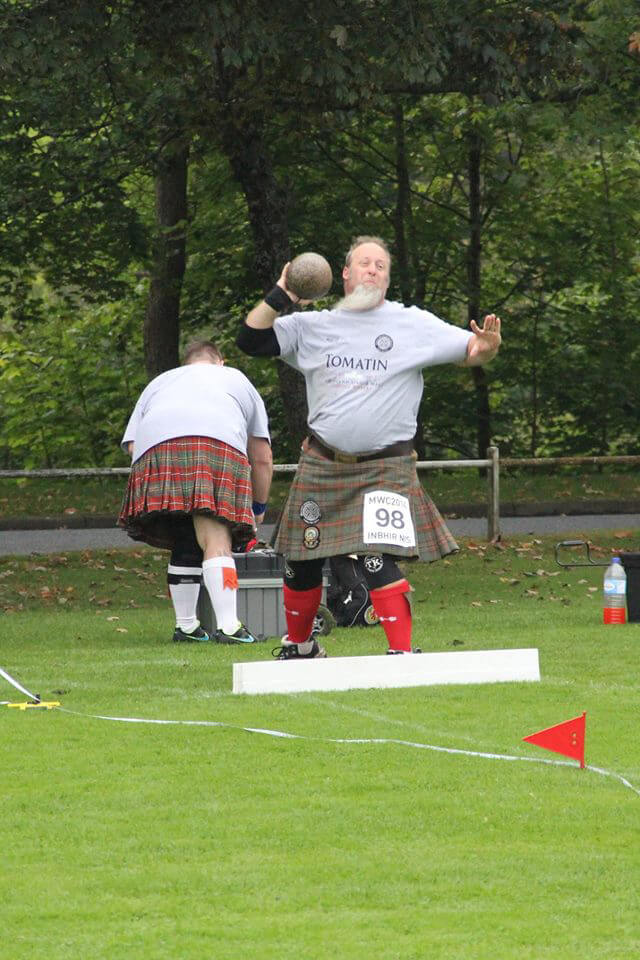 Fairhope athlete celebrates Celtic heritage at Highland Games in Scotland