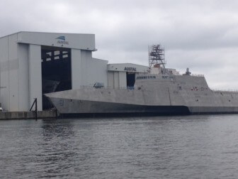 The Mobile-based shipbuilder, Austal USA.