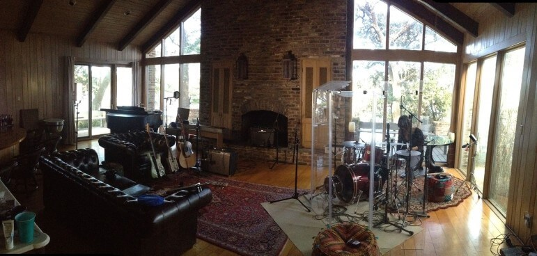At Studio H2O, Rick Hirsch has opened a comfortable recording space on Dog River.
