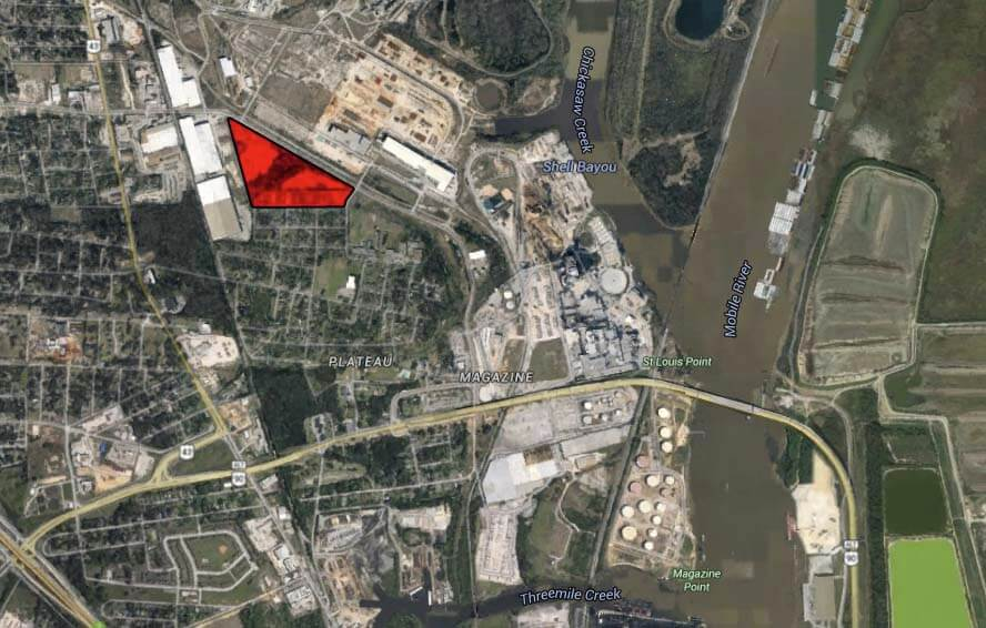 Bean Industries was seeking to rezone a 17-acre residential parcel in the Plateau (Africatown) community to build a steel warehouse. The Mobile Planning Commission denied the application Dec. 18.
